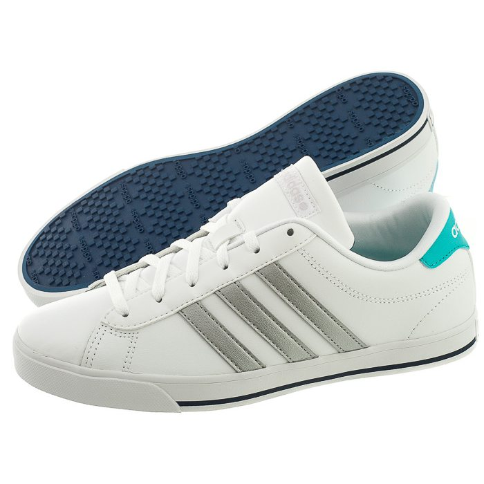 Adidas Trainers Shoes Womens Se Daily Qt White