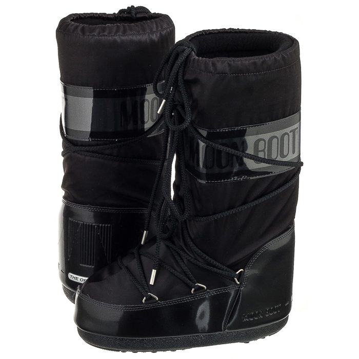 Black Moon Boots Niegowce Moon Boot Glance Black
