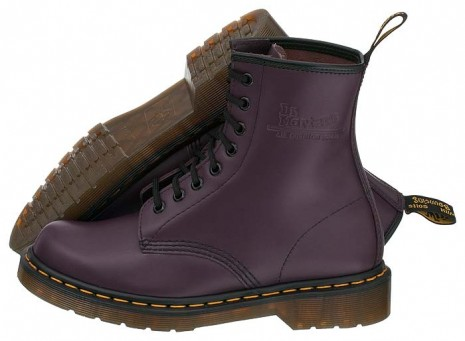Buty Glany Dr Martens 1460 Purple Smooth Fiolet 36