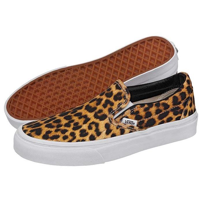 Buty Vans Classic Slip-On Leopard - butsklep