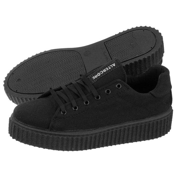 best sneakers ba800 1f128 Trampki Altercore Talus Black Canvas