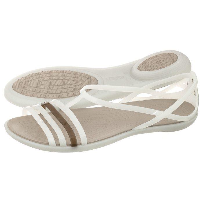 667c6766557 Sandały Crocs Isabella Sandal W Oyster 202465-11O w ButSklep.pl
