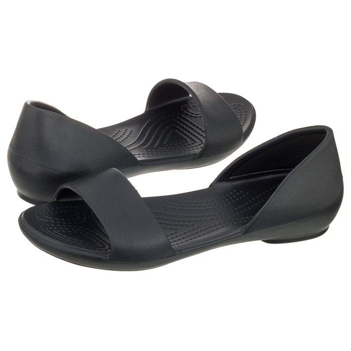 dobra obsługa oryginalne buty oficjalna strona Sandały Crocs Lina Dorsay Black 204291-001 w ButSklep.pl