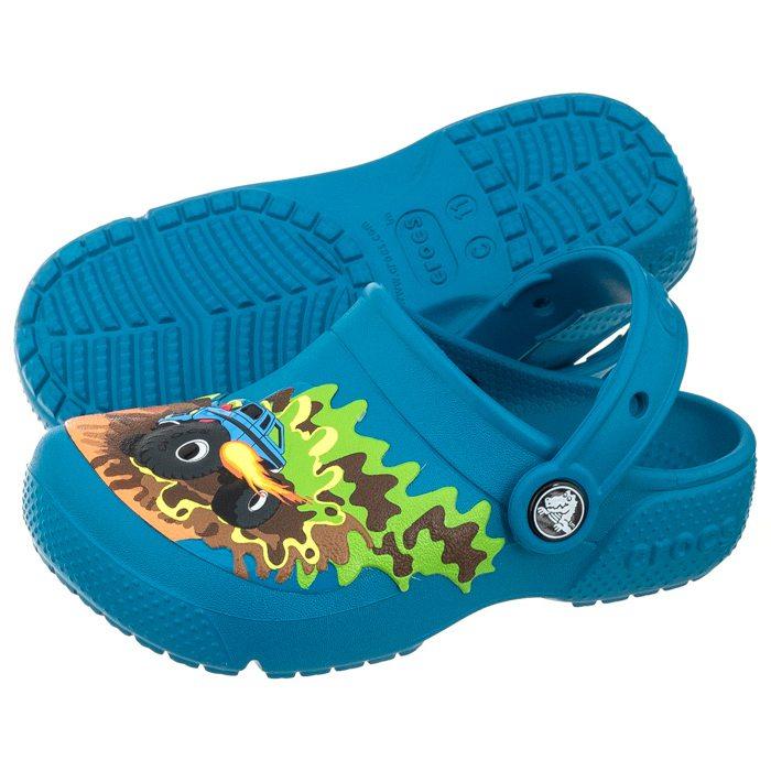 buty jesienne kupować nowe klasyczne buty Klapki Crocs Funlab Clog Monster Truck 204119-945 w ButSklep.pl