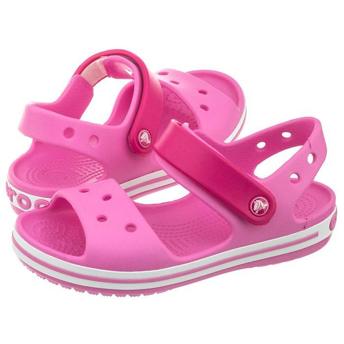 przedstawianie sklep z wyprzedażami Cena obniżona Sandałki Crocs Crocband Sandal Kids Pink 12856 w ButSklep.pl