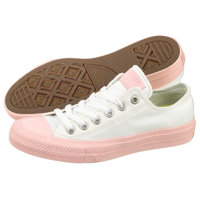 Trampki Converse CT All Star II OX 155728C WhiteVapor Pink