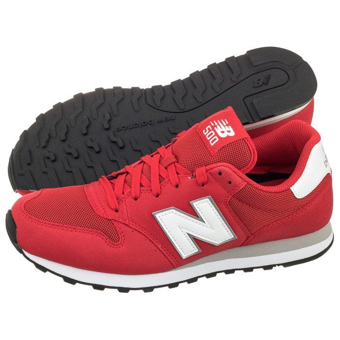 86a5929df4c94b Buty New Balance GM500RSW Czerwone w ButSklep.pl