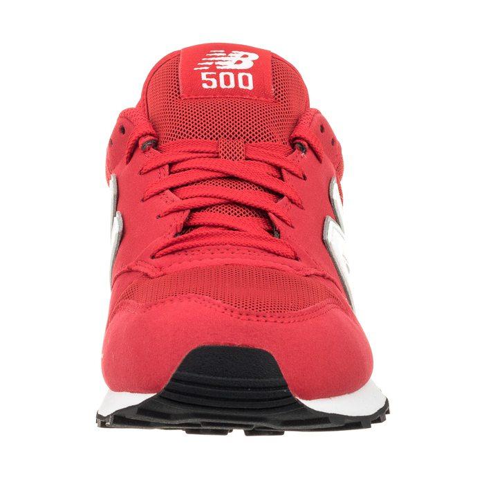 new balance 500 czerwone