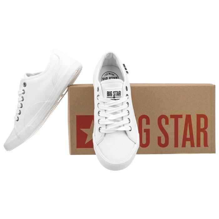 Tenisówki Big Star Białe W274835 w ButSklep.pl