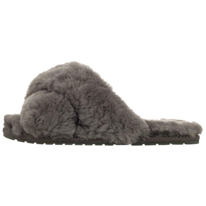 25388b079e31b Klapki EMU Australia Mayberry Charcoal W11573 w ButSklep.pl