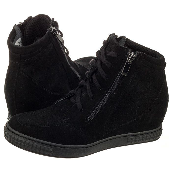 7f0e7f14 Sneakersy Venezia Czarne 1123C CAM NER w ButSklep.pl