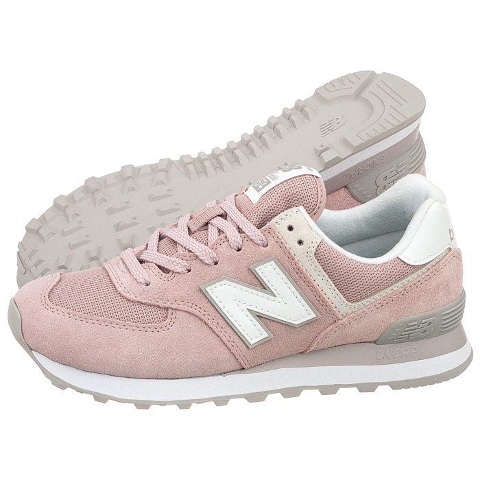 new balance 574 szare różowe damskie