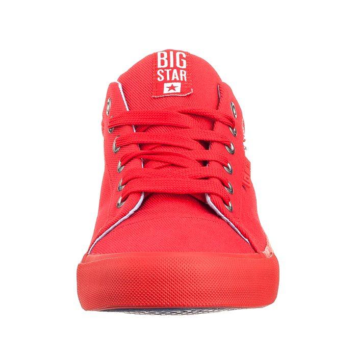 Buty Big Star Czerwone AA174093 w ButSklep.pl