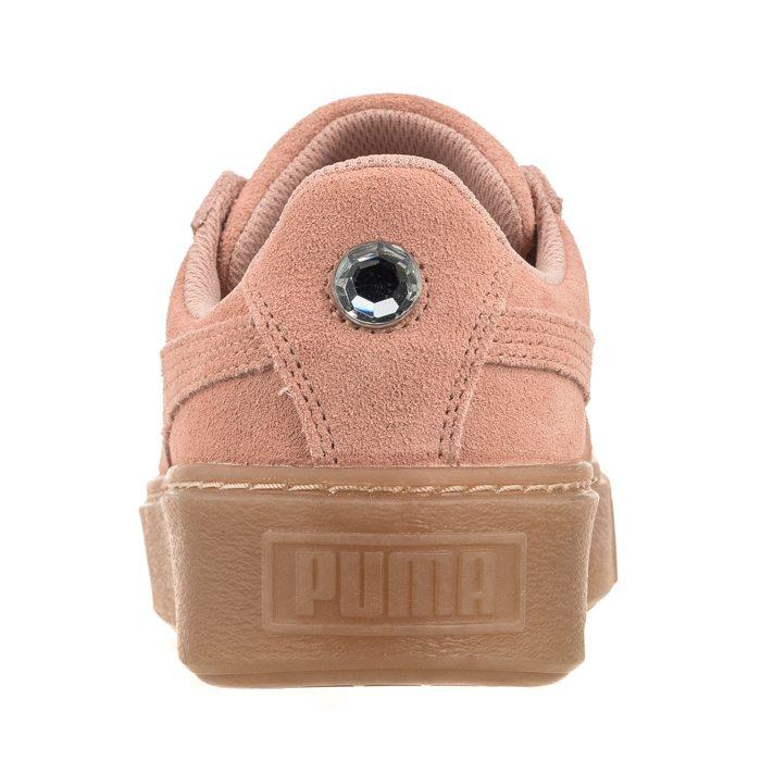 Buty Puma Suede Platform Jewel Jr 365131 01 w ButSklep.pl