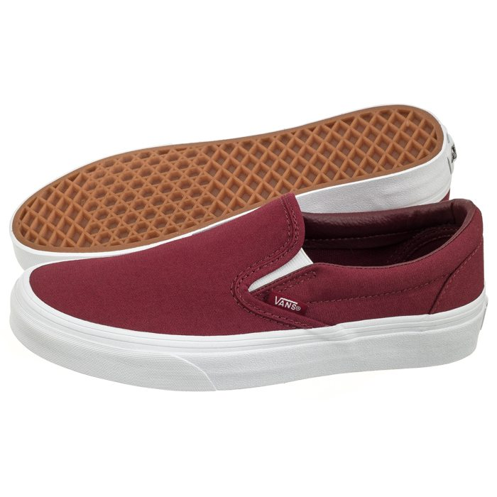 Buty Vans Classic Slip on (Mono Canvas) Cabernet VN0A38F7QDD