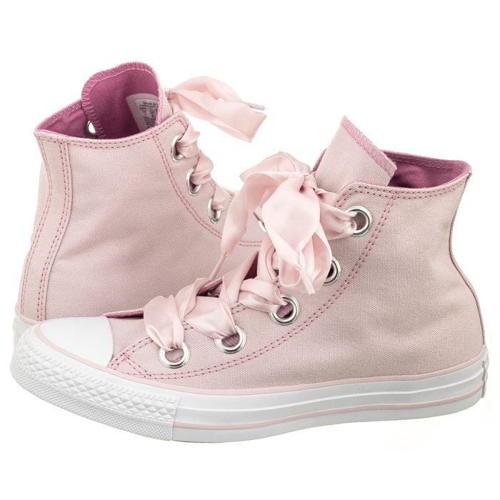 76c898cd0ce7 Trampki Converse CT All Star Big Eyelets HI 559917C Barely Rose Light Orchid  White