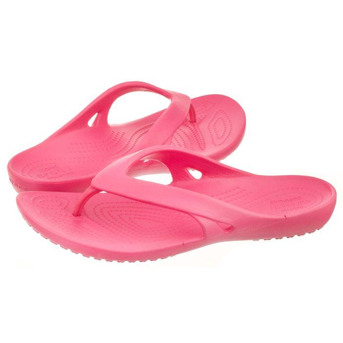 c9bba5b48a35 Japonki Crocs Kadee II Flip W Paradise Pink 202492-6NP w ButSklep.pl