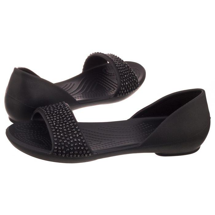 Sandały Crocs Lina Embellished Dorsay Black 204361-060 w ButSklep.pl f07dd9f62d9