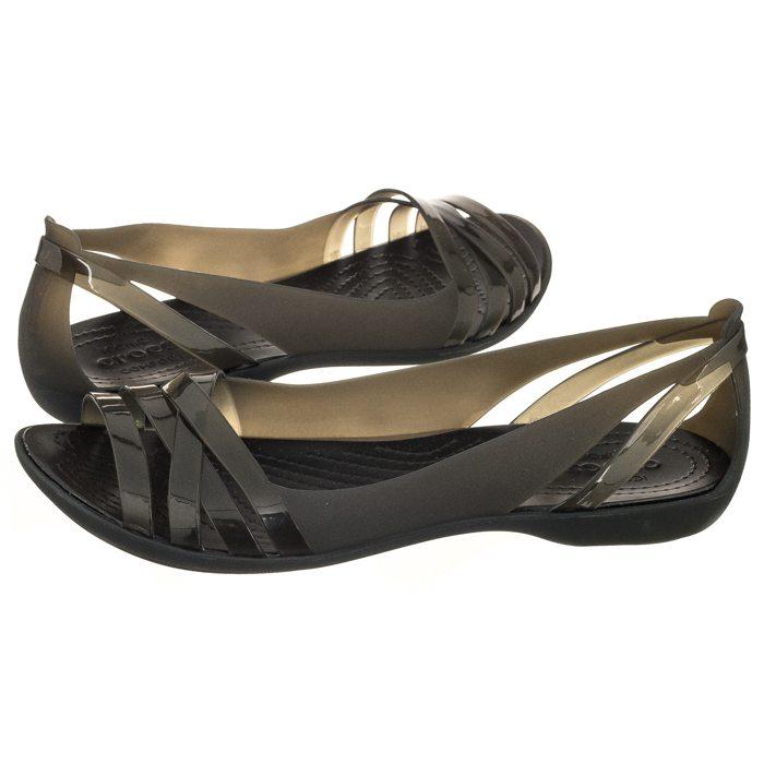 buty do biegania eleganckie buty trampki Sandały Crocs Isabella Huarache 2 Flat W Black 204912-060 w ...