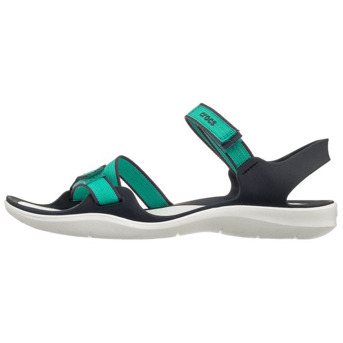 Sandały Crocs Swiftwater Webbing Sandal Tropical Teal 204804