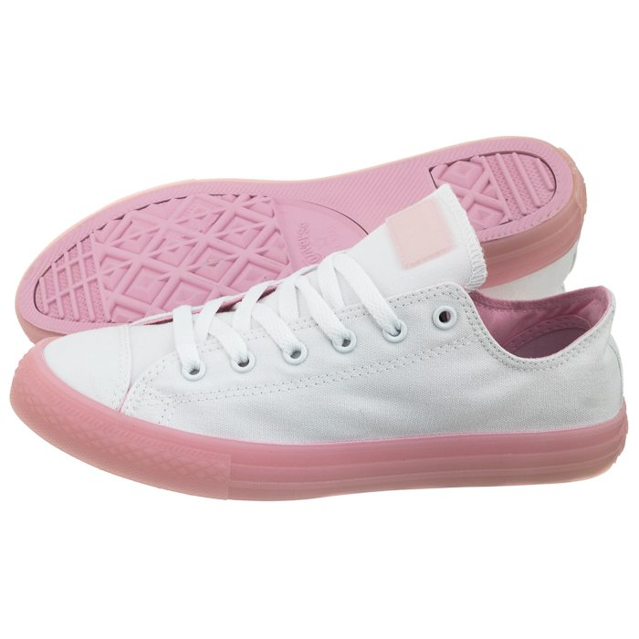 dc8cb67586d Trampki Converse CT All Star OX White Cherry Blossom 660719C w ...