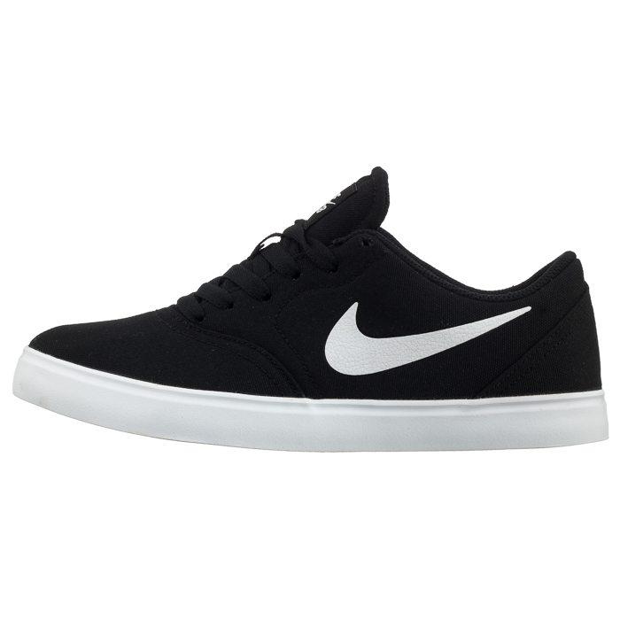 Buty Nike SB Check Cnvs (GS) 905373 003 (NI790 a) czarny ButSklep.pl