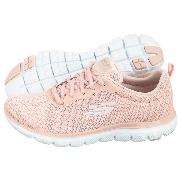 50491fb63bbe5 Buty Sportowe Skechers Flex Appeal 2.0 Light Pink 12775/LTPK w ...