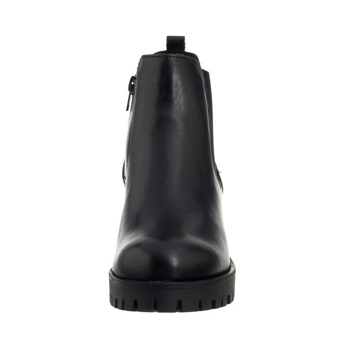 ce116c809175d start Damskie Botki Sztyblety Sztyblety Tamaris Czarne 1-25435-21 003 Black  Leather Powrót. SALE