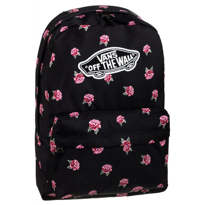autentyczna jakość fantastyczne oszczędności w magazynie Plecak Vans Realm Backpack Black Rose VN0A3UI6RDU w ButSklep.pl