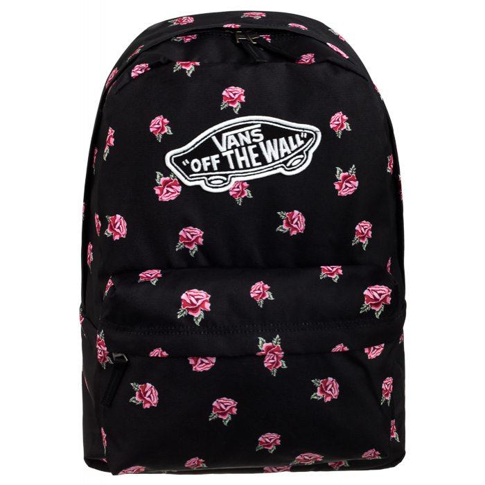Plecak Vans Realm Backpack Black Rose VN0A3UI6RDU w ButSklep.pl