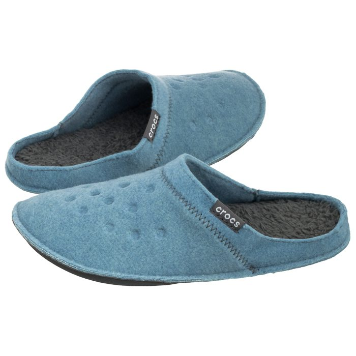 3492be519382 Kapcie Crocs Classic Slipper Chambray Blue 203600-4IG w ButSklep.pl