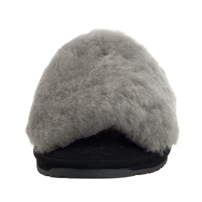 świetne oferty miło tanio najlepsza wyprzedaż Klapki EMU Australia Wrenlette Solid 2.0 Dove Grey W11994 w ...
