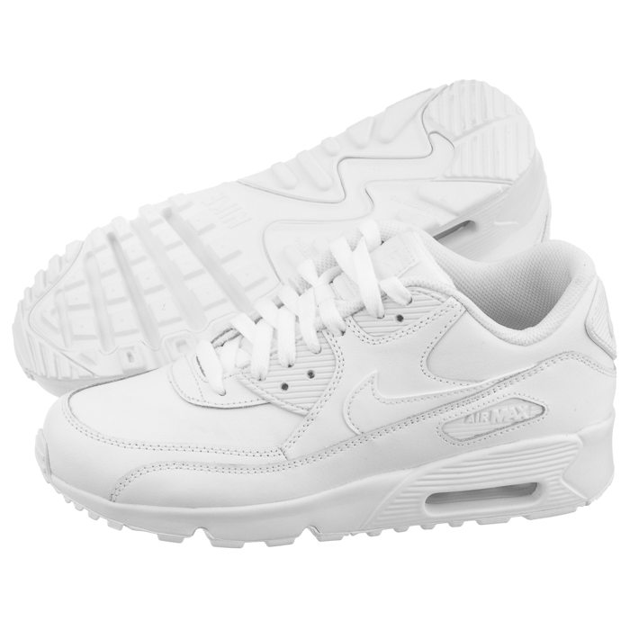 66d18a43 Sneakersy Nike Air Max 90 LTR (GS) 833412-100 w ButSklep.pl