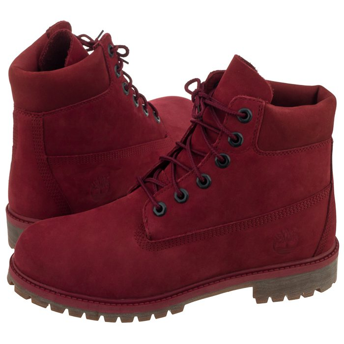 Trapery Timberland 6 In Premium WP Boot Pomegranate A1VCK (TI53 j)