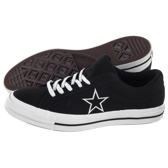 Buty Converse One Star OX BlackWhite 163376C w ButSklep.pl