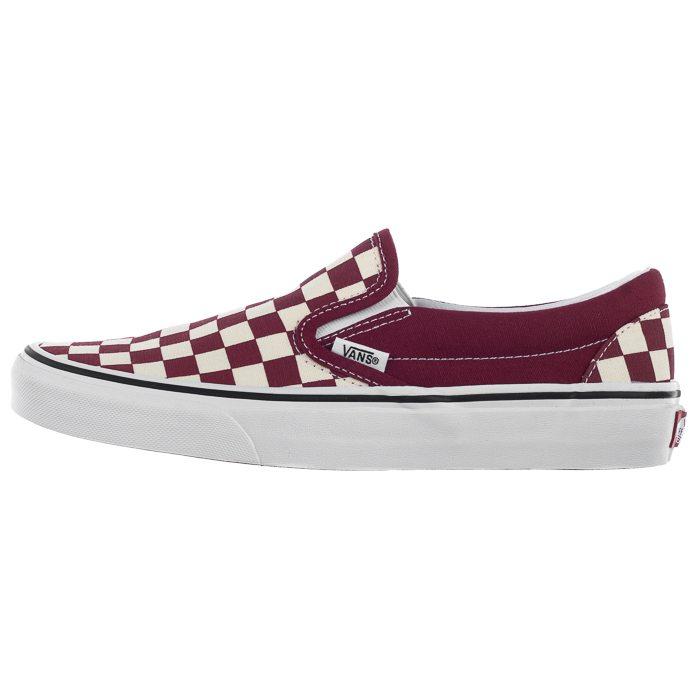 Tenisówki Vans Classic Slip On (Checkerboard) Rumba Red