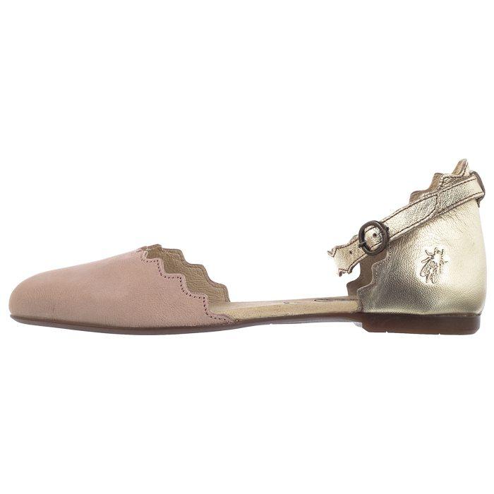 Sandały FLY London Megs Cupi/Idra Nude Pink/Gold