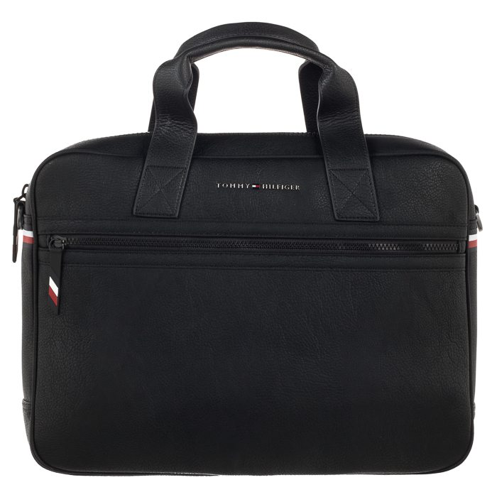 d7a04738592ea Torba na laptopa Tommy Hilfiger Essential Computer Bag AM0AM04621 002 Black