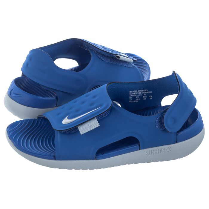 Sandałki Nike Sunray Adjust 5 (GSPS) AJ9076 400 w ButSklep.pl