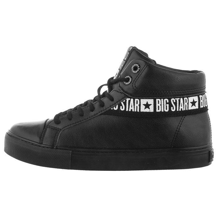 Buty Big Star Czarne EE274355 w ButSklep.pl