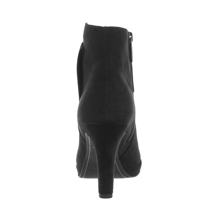 Botki Czarne 1 25383 23 043 Black Glam (TM201 a)