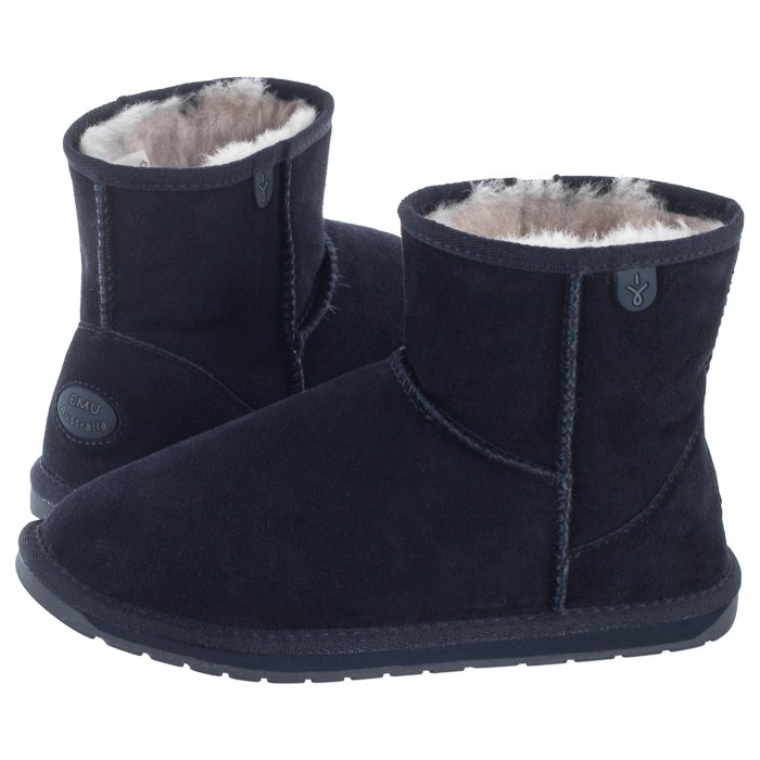 Buty EMU Australia Wallaby Mini Midnight K10103 w ButSklep.pl