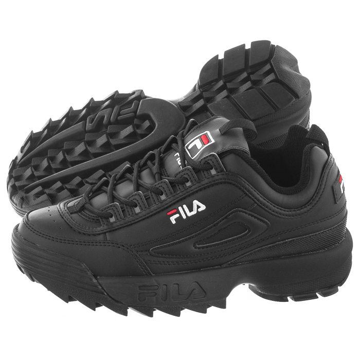 Sneakersy Fila Disruptor Low Wmn Black 1010302.12V w ButSklep.pl