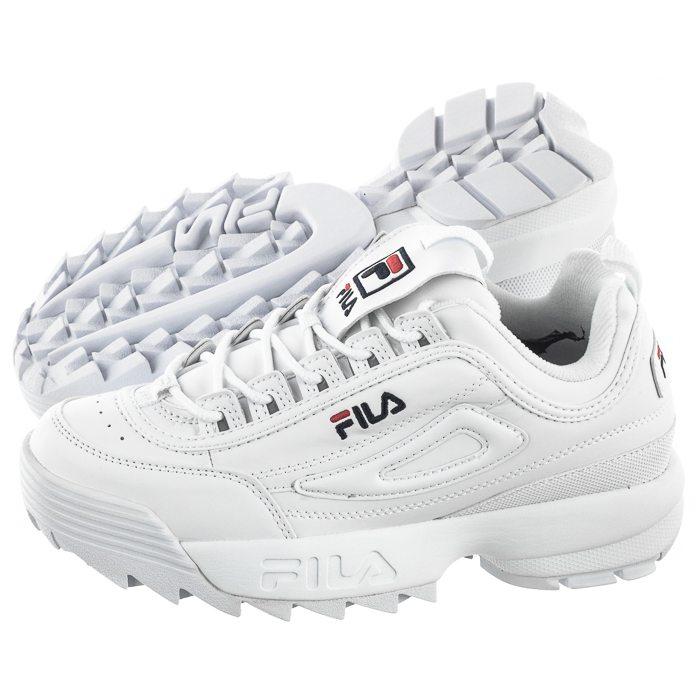 Sneakersy Fila Disruptor Low Wmn White 1010302.1FG w ButSklep.pl