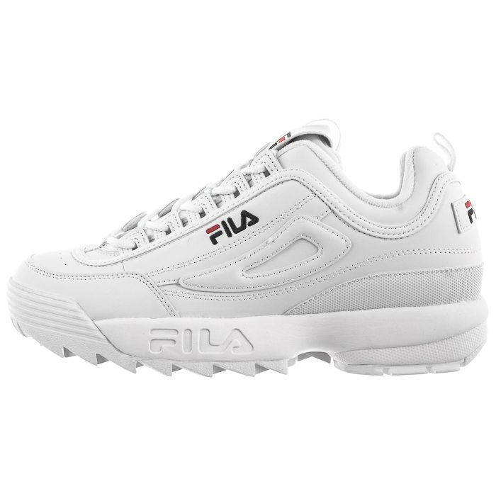 sneakersy fila disruptor low 1010262.1 fg white