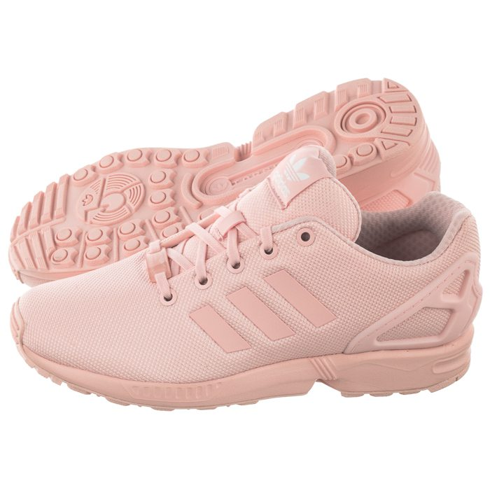 buty dziecięce adidas brązowe zx flux