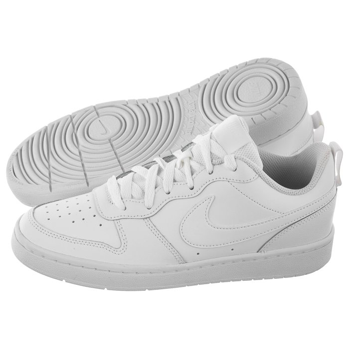 Nike COURT BOROUGH LOW 100 WHITE WHITE WHITE 36 Ceny i