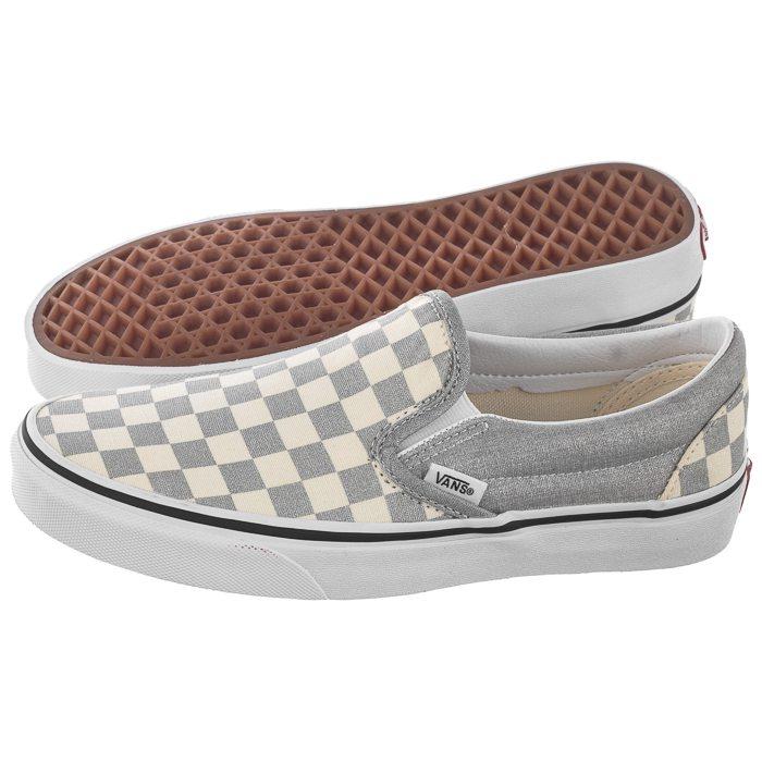 Tenisówki Vans Classic Slip On (Checkerboard)SilverWht