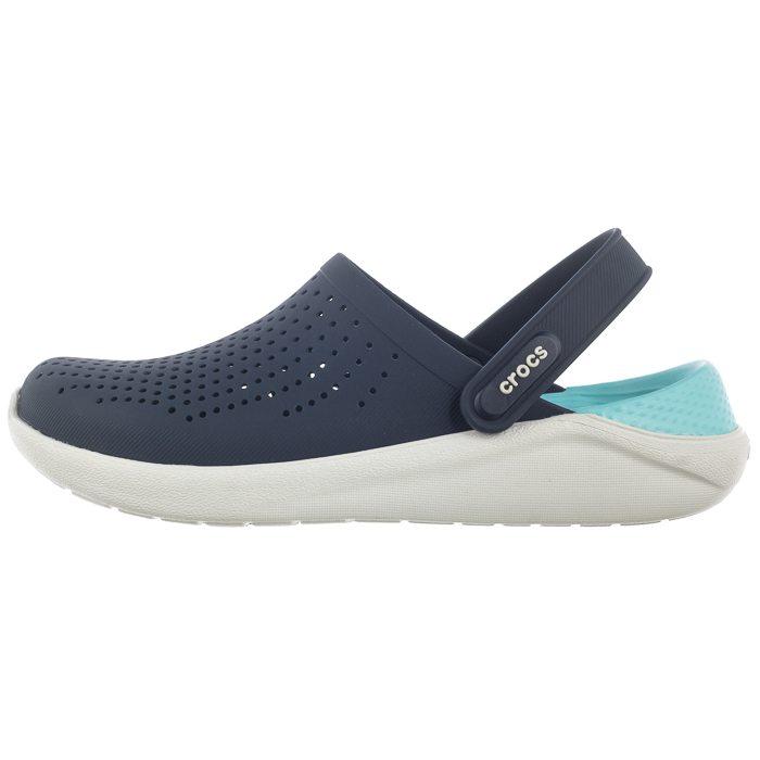 Klapki Crocs Literide Clog NavyAlmost White 204592 4KO w