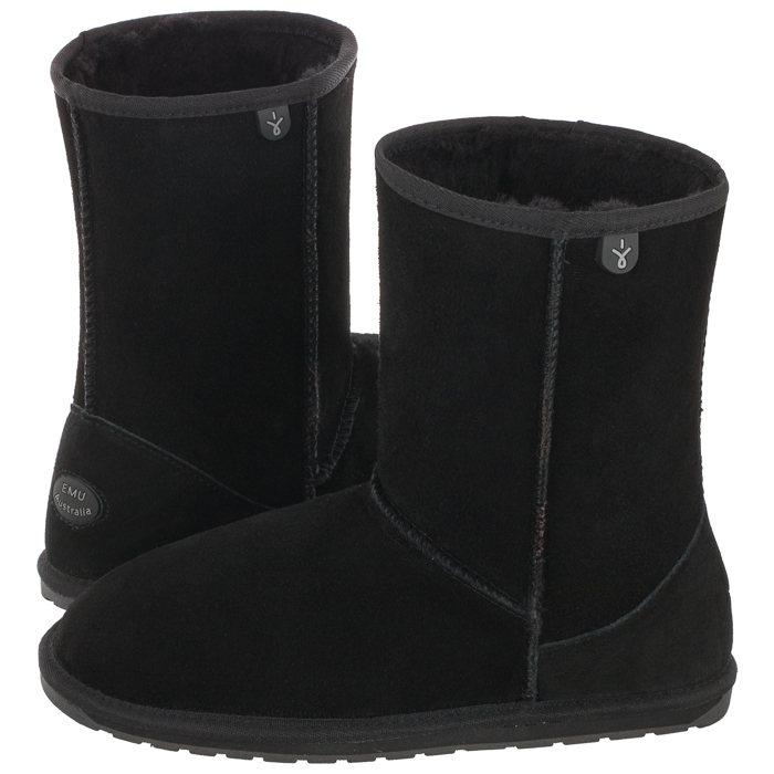 Buty Emu Australia Wallaby Lo Teens Black T10102 W Butsklep Pl